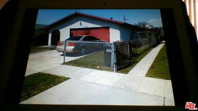 Los Angeles Single Family Home For Sale: 1117 West 103rd Street