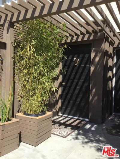 Culver City Condo/Townhouse For Sale: 4571 Inglewood #6