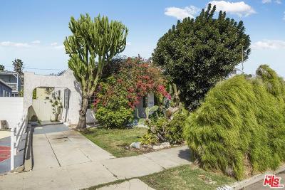 Venice Single Family Home For Sale: 1037 Palms Boulevard
