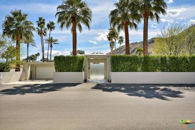 Palm Springs Single Family Home For Sale: 521 West Via Lola