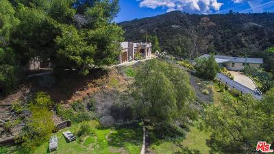 Topanga Single Family Home For Sale: 2084 Topanga Skyline Drive