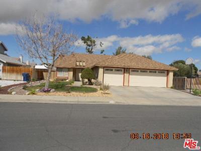 Palmdale Single Family Home For Sale: 3819 Sunstream Avenue