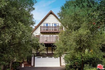 Topanga Single Family Home For Sale: 3415 Old Topanga Canyon Road