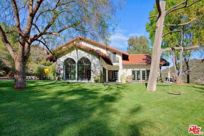 Malibu Single Family Home For Sale: 32095 Hidden Highland Road Road