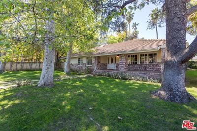 Encino Single Family Home For Sale: 4625 Noeline Avenue