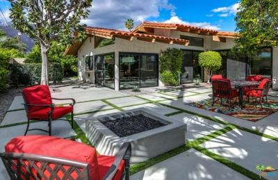 Palm Springs CA Single Family Home For Sale: $749,000