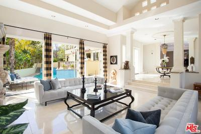 Los Angeles CA Single Family Home For Sale: $3,595,000