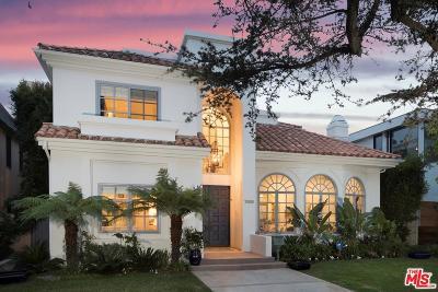 Santa Monica CA Single Family Home For Sale: $4,395,000