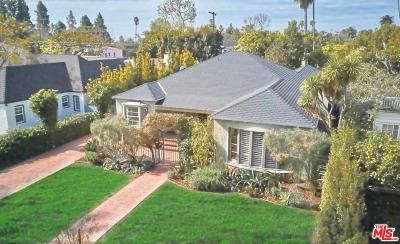 Santa Monica CA Single Family Home For Sale: $3,850,000