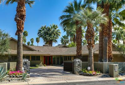 Palm Springs CA Single Family Home For Sale: $1,895,000