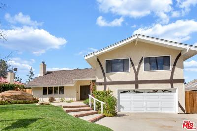 Topanga Single Family Home For Sale: 3157 Hodler Drive