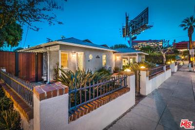 West Hollywood Single Family Home For Sale: 830 Palm Avenue