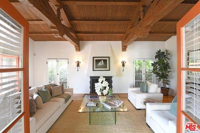 Beverly Hills Single Family Home For Sale: 265 South La Peer Drive