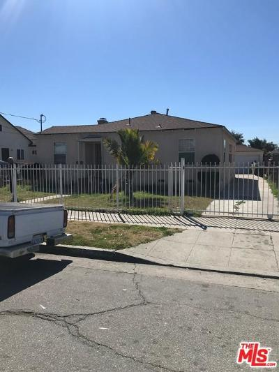 Los Angeles Single Family Home For Sale: 1278 East 107th Street
