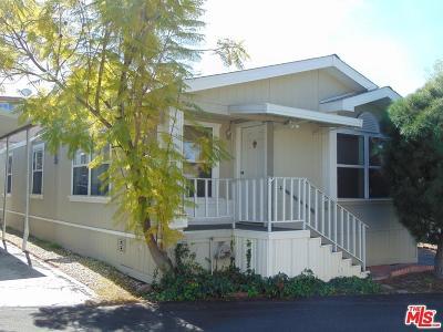 Woodland Hills Mobile Home For Sale: 4201 Topanga Canyon #193