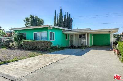 Compton Single Family Home For Sale: 1618 West 163rd Street