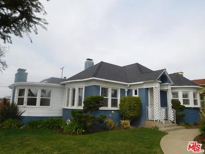 Inglewood Single Family Home Sold: 3533 West 78th Street