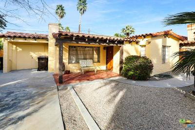 Palm Springs Single Family Home For Sale: 1340 East Camino Amapola