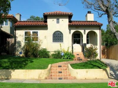 Pacific Palisades Single Family Home For Sale: 1042 Fiske Street