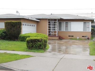 Compton Single Family Home For Sale: 15631 South Tarrant Avenue