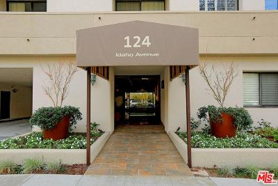 Santa Monica Condo/Townhouse For Sale: 124 Idaho Avenue #401