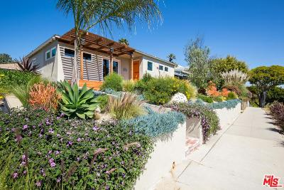 Santa Monica Single Family Home For Sale: 2121 Marine Street