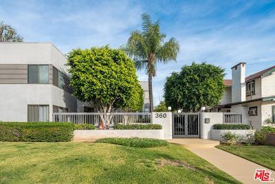 Pasadena Condo/Townhouse For Sale: 360 South Los Robles Avenue #11