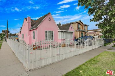 Los Angeles Single Family Home For Sale: 803 East 80th Street