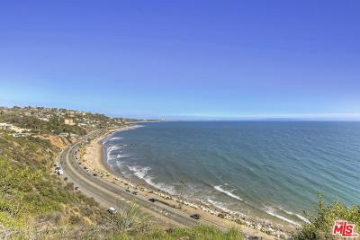 Malibu Single Family Home For Sale: 18300 Coastline Drive