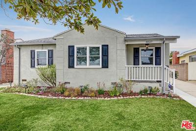 Single Family Home For Sale: 6527 West 84th Place