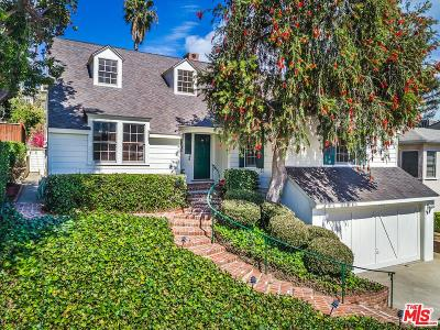 Los Angeles CA Single Family Home Sold: $1,995,000
