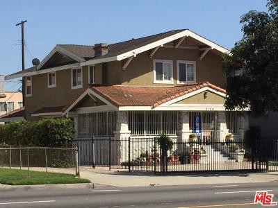 Los Angeles Single Family Home For Sale: 2104 Crenshaw Boulevard