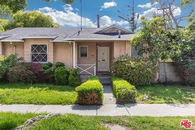 Culver City Single Family Home For Sale: 4301 Mentone Avenue
