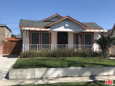 Los Angeles Single Family Home For Sale: 715 East 76th Street