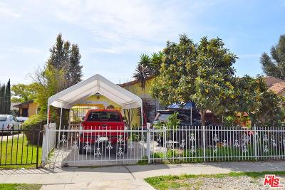 Los Angeles Single Family Home For Sale: 1744 West 37th Place