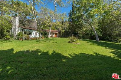 Los Angeles County Single Family Home For Sale: 2500 Mandeville Canyon Road