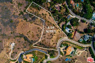 Malibu CA Residential Lots & Land Active Under Contract: $3,750,000