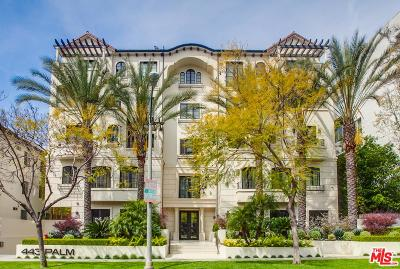 Beverly Hills Condo/Townhouse For Sale: 443 North Palm Drive #102