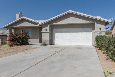 Desert Hot Springs Single Family Home For Sale: 13391 Inaja Street