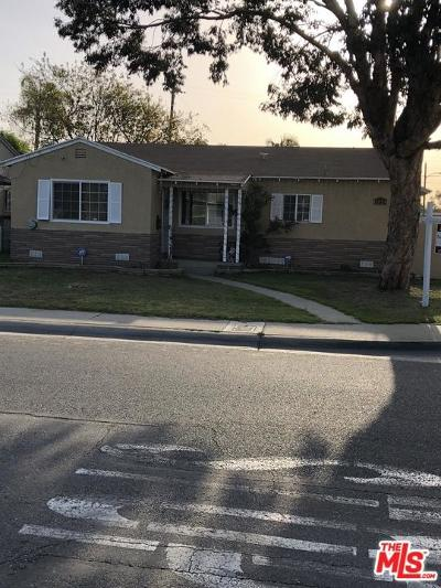 Compton Single Family Home For Sale: 1224 South White Avenue