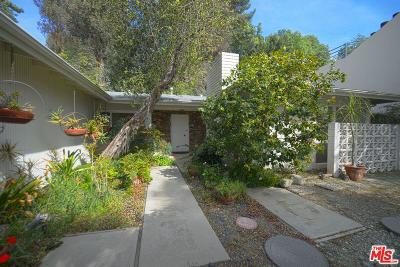 Single Family Home For Sale: 2820 Nichols Canyon Place