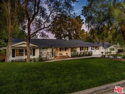 Hidden Hills Single Family Home For Sale: 5808 Hilltop Road