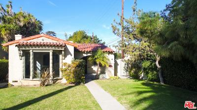 Los Angeles Single Family Home For Sale: 1601 Wellington Road