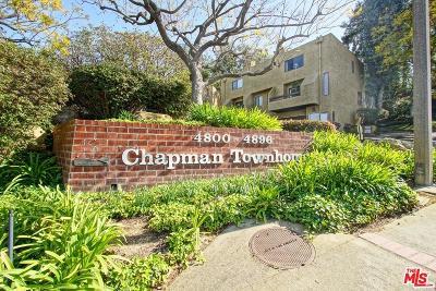 Los Angeles Condo/Townhouse For Sale: 4852 Via Colina