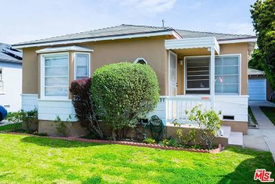 Santa Monica Single Family Home For Sale: 2339 29th Street