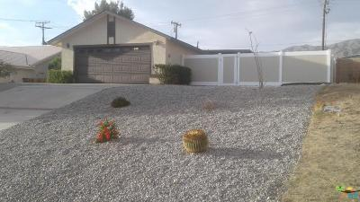 Desert Hot Springs Single Family Home For Sale: 66538 Yucca Dr Drive