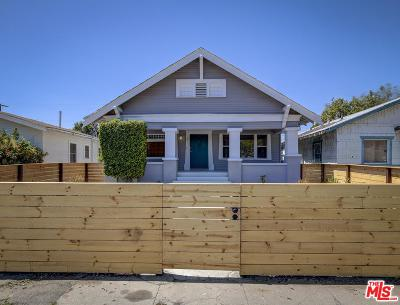 Los Angeles Single Family Home For Sale: 3871 South Hobart Boulevard