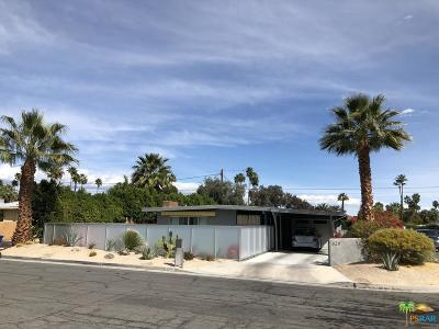 Palm Springs Single Family Home For Sale: 620 North Calle Marcus