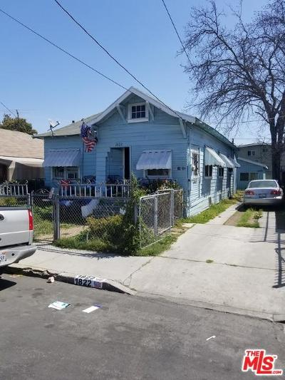 Los Angeles Single Family Home For Sale: 1822 South Berendo Street