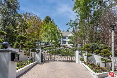 Encino Single Family Home For Sale: 4561 Tara Drive